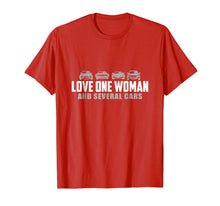 Afbeelding in Gallery-weergave laden, Love One Woman And Several Cars Tshirt