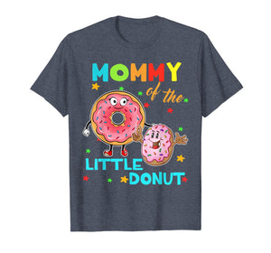 Mommy Of The Little Donut Birthday Shirt Mommy Donut Shirt