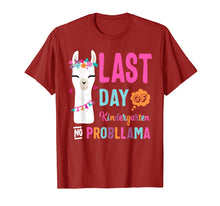Afbeelding in Gallery-weergave laden, Happy Last Day Of Kindergarten No Probllama Llama Shirt Gift