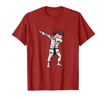 Afbeelding in Gallery-weergave laden, Karate Taekwondo Dabbing Boy Funny Dab T-shirt for kids