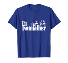 Afbeelding in Gallery-weergave laden, Funny Twin Dad Fathers Day Gift Twinfather t shirt for men