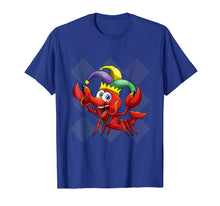 Afbeelding in Gallery-weergave laden, Kids Mardi Gras Shirt Funny Crawfish Beads Costume Gift