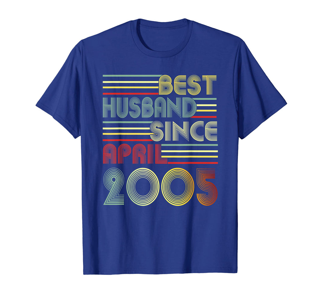 Mens 14th Wedding Anniversary Gifts Husband Since April 2005 Tee
