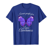 Afbeelding in Gallery-weergave laden, Lupus Awareness Butterfly Shirt
