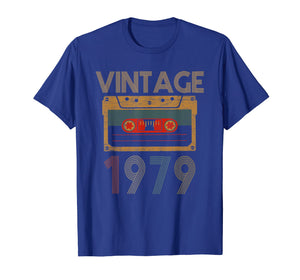 Happy 40th Birthday with Vintage 1979 T-Shirt