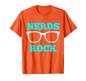 Nerds Rock T Shirt Gamer Geek Fun Cute Nerd Shirt Boy Girl