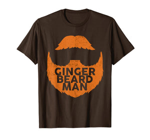 Mens Ginger Beard Man Red Beard T-Shirt