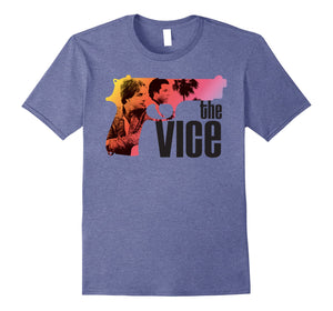 Miami Vice 'The Vice' Neon Gun T-Shirt