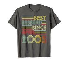 Afbeelding in Gallery-weergave laden, Mens 14th Wedding Anniversary Gifts Husband Since April 2005 Tee