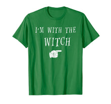 Afbeelding in Gallery-weergave laden, Men's Halloween Couples Costume T Shirt I'm With The Witch