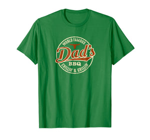 Mens Vintage Dad's BBQ Chilling and Grilling T-Shirt