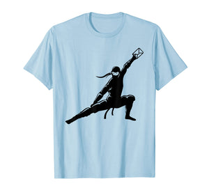 Mail Ninja Shirt | Cute Pro Post Office Mailman Funny Gift