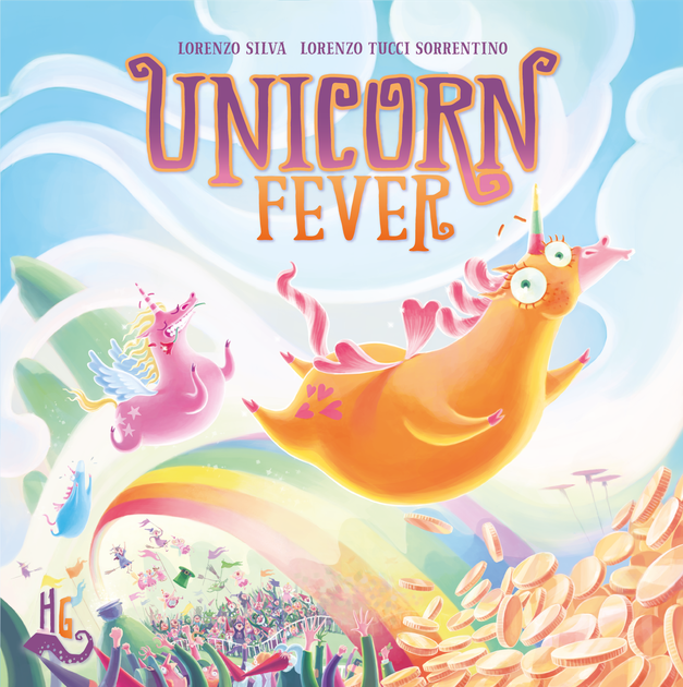 Unicorn Fever Board Game - On its way but delayed