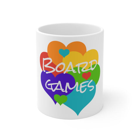 Colourful Board Game Mug