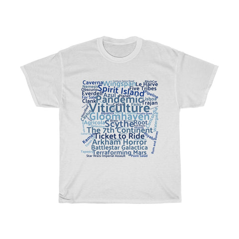 Board Game T-Shirt the Blue Square - boardgamerstore