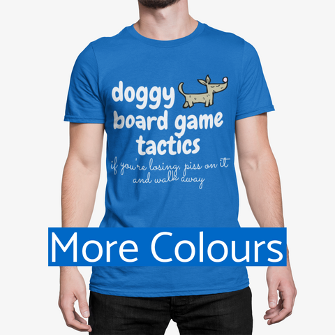 Funny Dog Board Game T-shirt