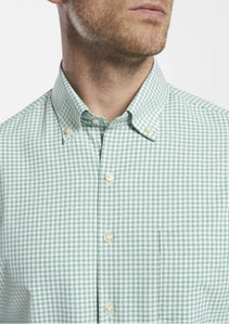 PETER MILLAR SAMUEL NATURAL TOUCH SPORT SHIRT