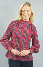 Load image into Gallery viewer, CK BRADLEY EMERY BLOUSE LONG SLEEVE WITH MOCK NECK