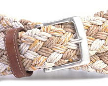 Load image into Gallery viewer, PORTOFINO BRAIDED ITALIAN LINEN BELT