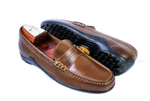 BILL WATER BUFFALO LEATHER PENNY LOAFER