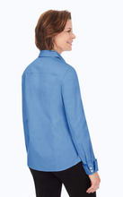 Load image into Gallery viewer, FOXCROFT LAUREN SOLID BLOUSE