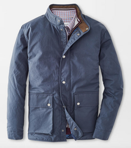 PETER MILLAR WAXED COTTON FIELD JACKET