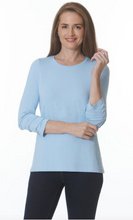 Load image into Gallery viewer, E.L.I. RUCHED SLEEVE TUNIC