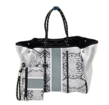 Load image into Gallery viewer, PARKER & HYDE NEOPRENE TOTE