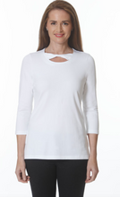 Load image into Gallery viewer, E.L.I. TWIST NECK TUNIC