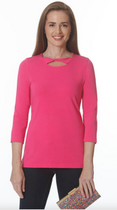 E.L.I. TWIST NECK TUNIC