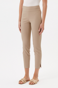 UP ANKLE PANT W/METAL BAR DETAIL