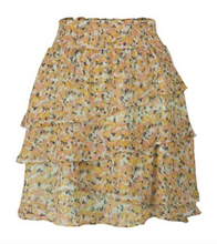 Load image into Gallery viewer, ESQUALO PRINT RUFFLE SKIRT