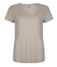 Load image into Gallery viewer, ESQUALO FOIL V-NECK TEE