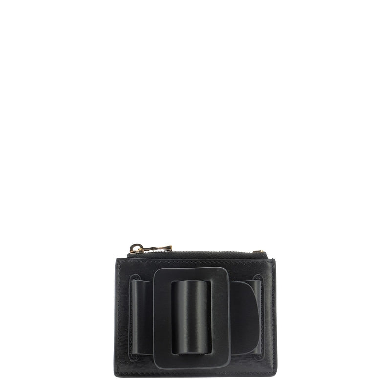 BOYY Wallet acc BUCKLECARD HOLDER BLACK 338978