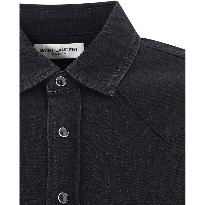 SAINT LAURENT Casual Shirts 597059Y880S1001 352783