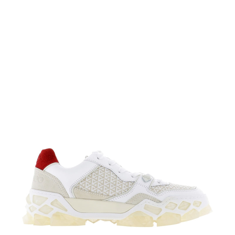 JIMMY CHOO Sneakers DIAMOND X TRAINER/F FHFX COTTON MIX 363154
