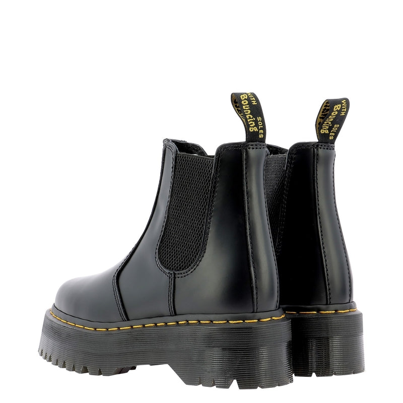 DR. MARTENS Boots DMS2976QBSM24687001BLACK POLISHED 375053