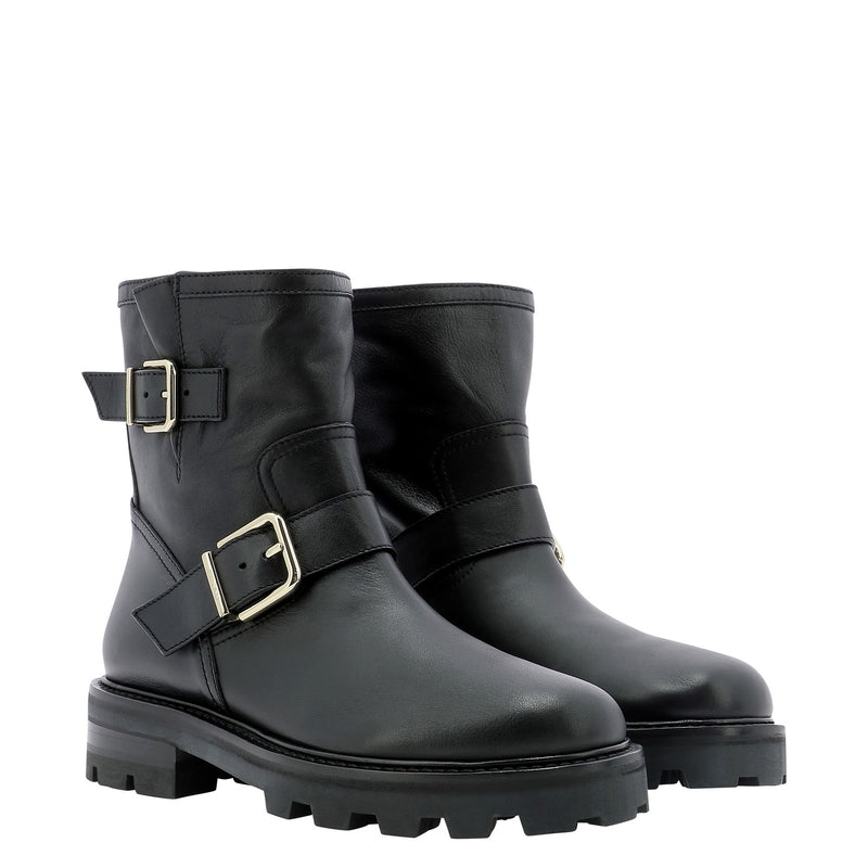 JIMMY CHOO Boots YOUTH II SQMBLACK 383132
