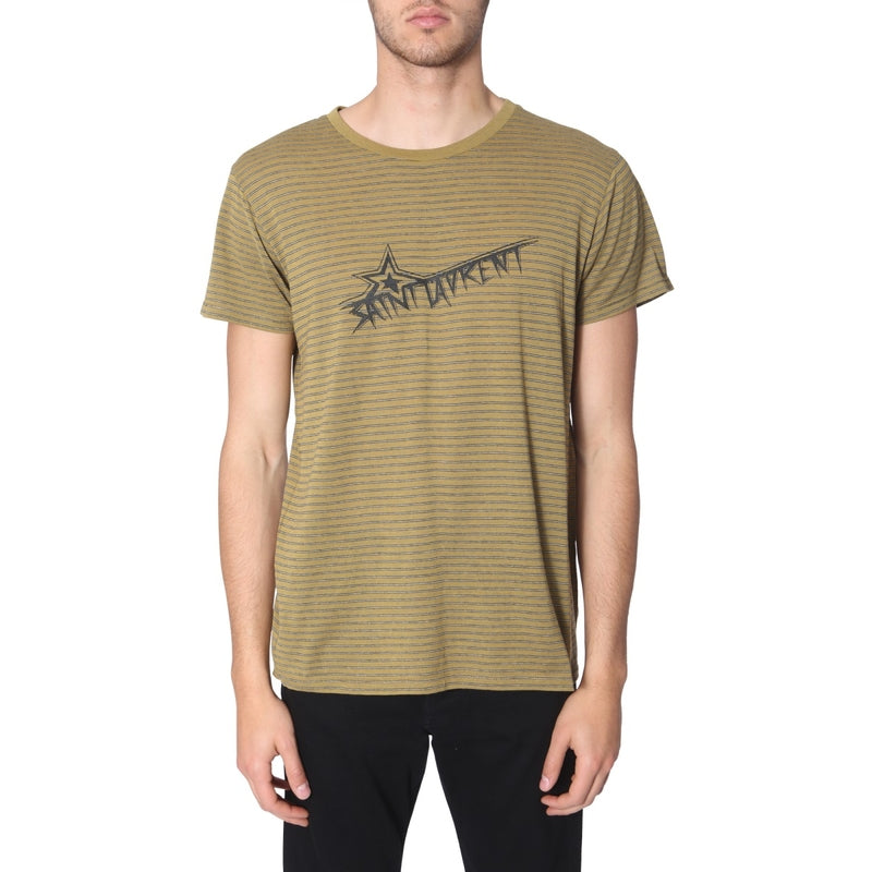 SAINT LAURENT T-shirts(Half) 579056_YBIW21370 175749
