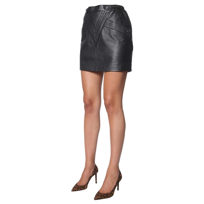 SAINT LAURENT Midi Skirt  589372_YC2UE1000 213429