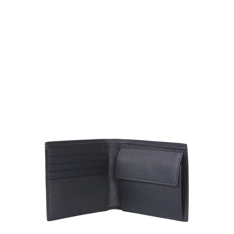 SAINT LAURENT Wallet (Half) 396303_BTY0N1000 280563