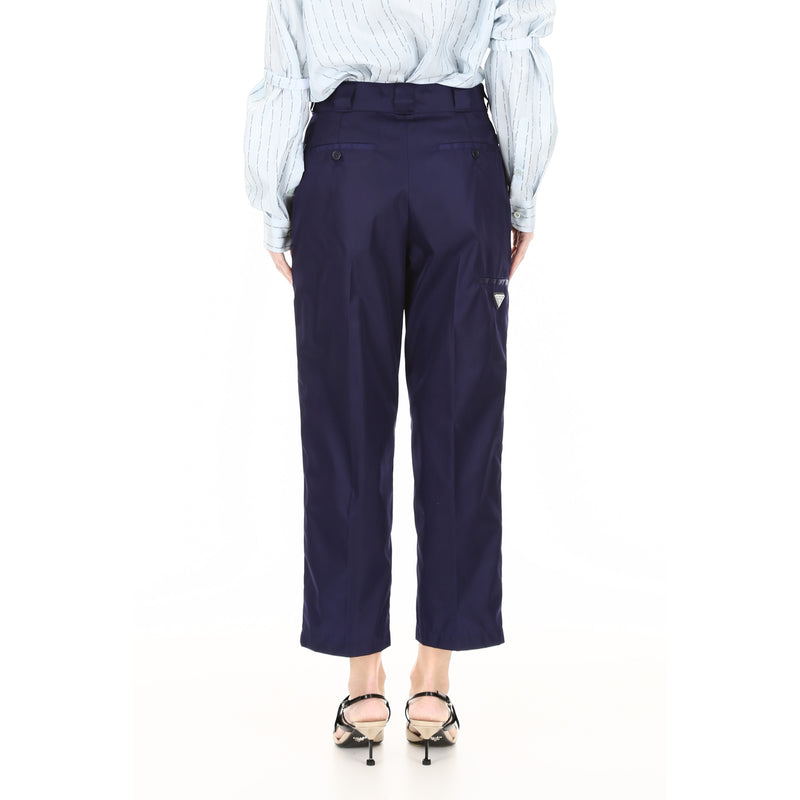 PRADA Regular Fit & Straight Pants 22H775 I18 187859