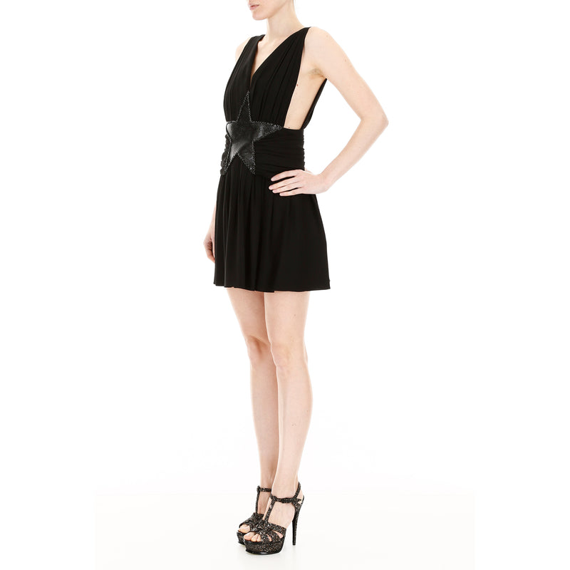 SAINT LAURENT Midi Dress 546043 Y210W 187449