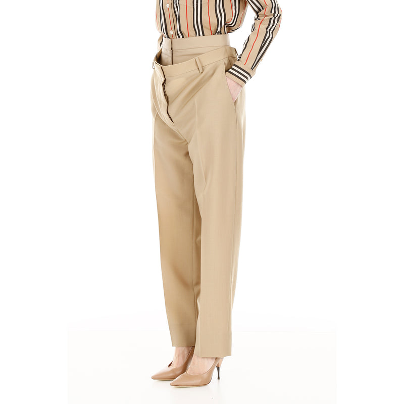 BURBERRY Regular Fit & Straight Pants 4560837 182315