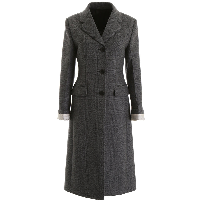PRADA Single Breasted Coat P687L LJH 196952