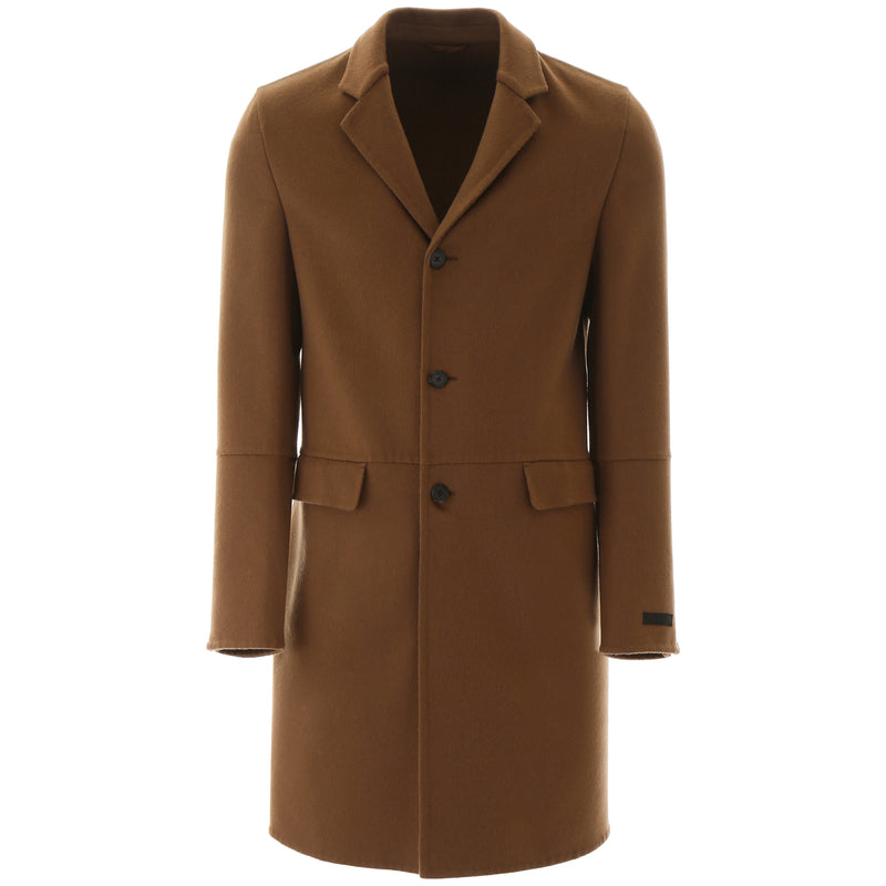 PRADA Single Breasted Coat UC404D 471 246090