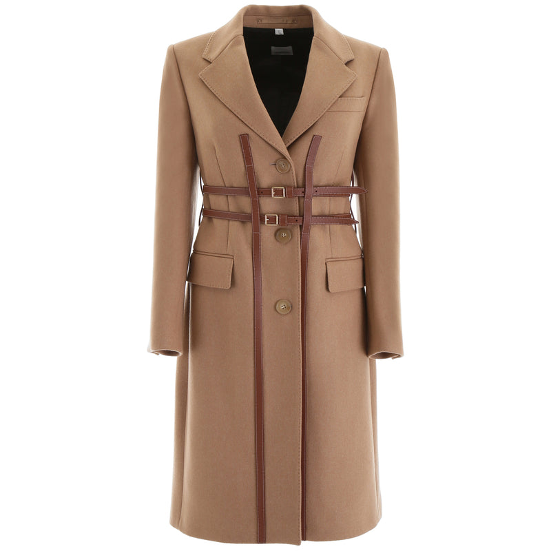 BURBERRY Single Breasted Coat 8014171 219647