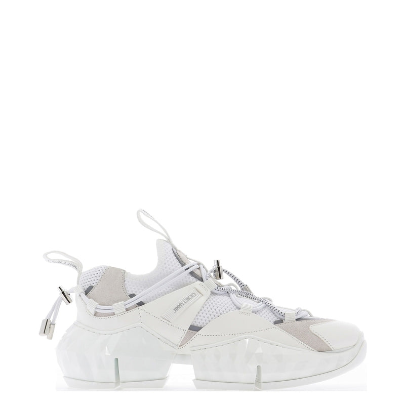 JIMMY CHOO Sneakers DIAMOND TRAIL/FEHLOPTICAL WHITE 323124