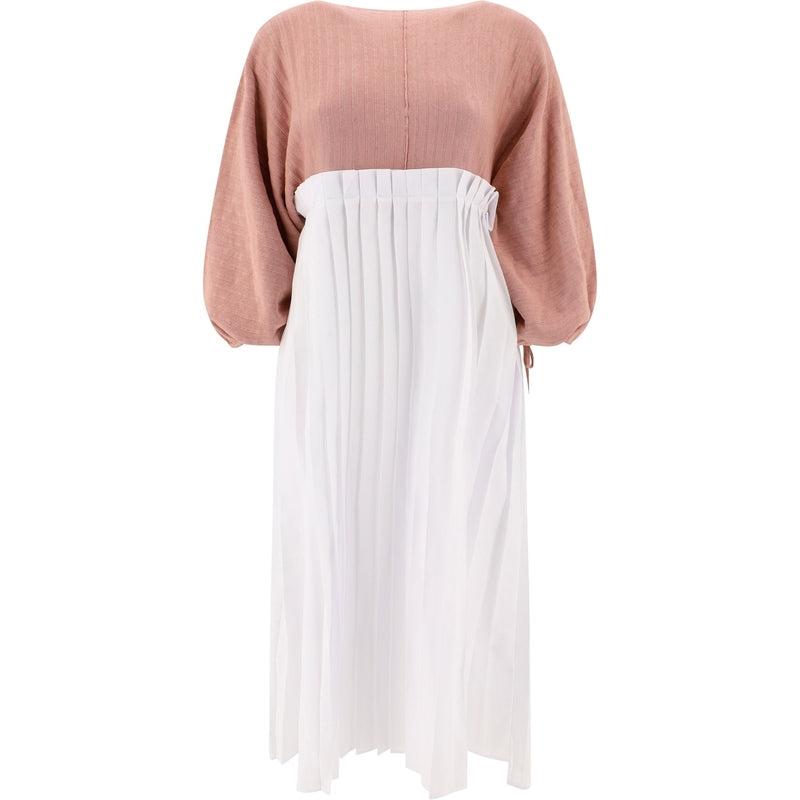 MAISON FLANEUR Long Dress 20SMDTH220FE029ROSE 323673