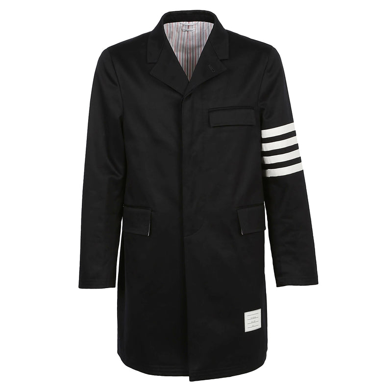 THOM BROWNE Single Breasted Coat MOU543A03788 80767